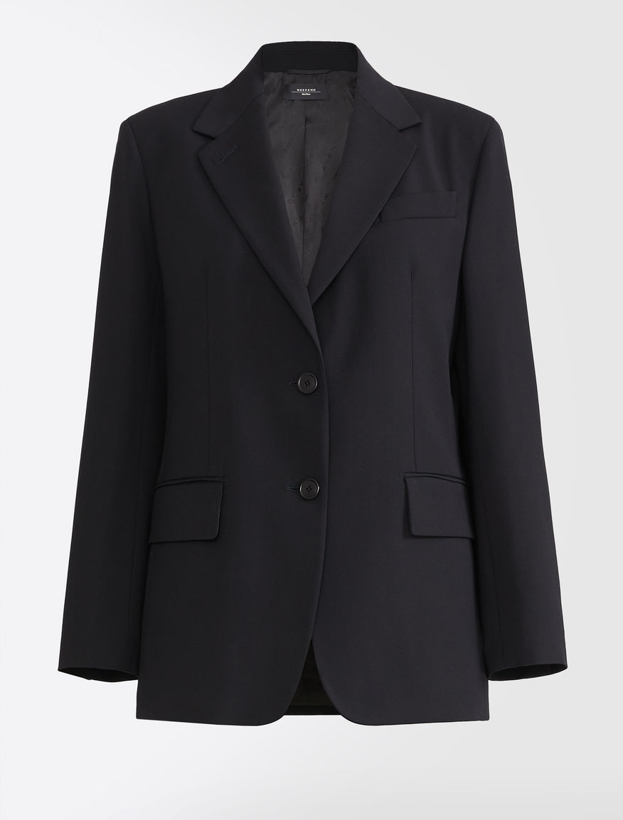 Wool and viscose twill blazer Weekend Maxmara