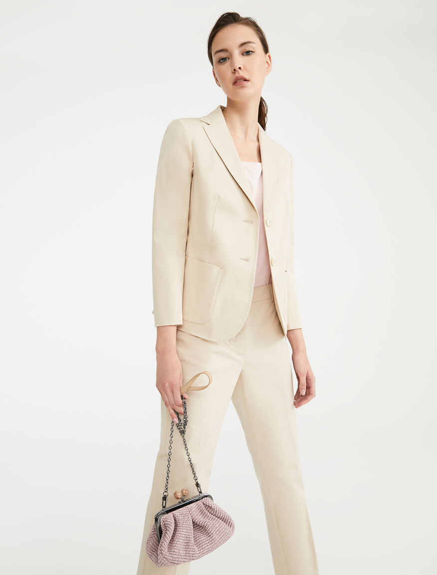 Blazer in gabardina di cotone Weekend Maxmara