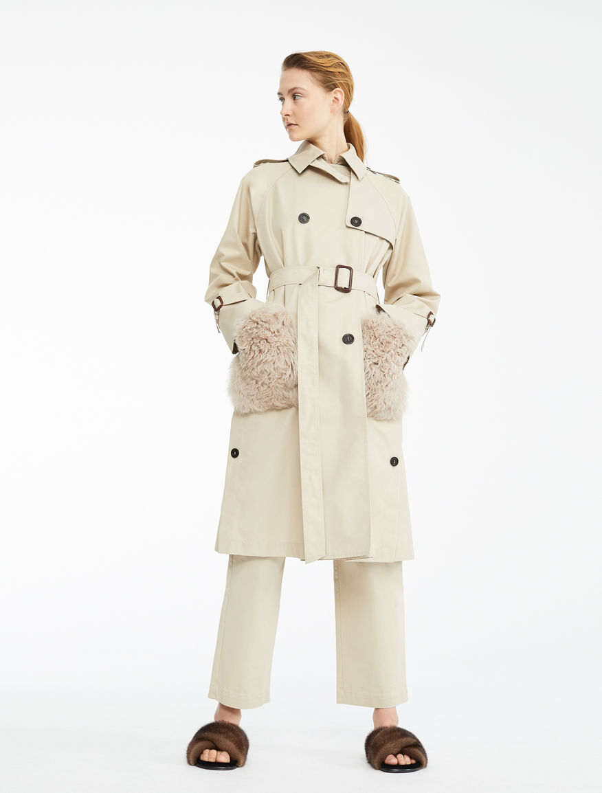 Trench in gabardina antigoccia Weekend Maxmara