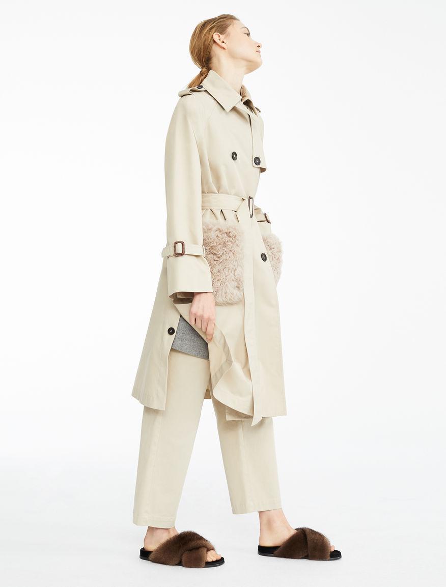 Water-repellent gabardine trench coat Weekend Maxmara