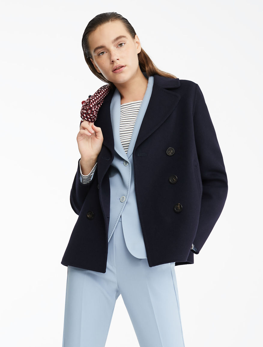 Wool-blend pea coat Weekend Maxmara