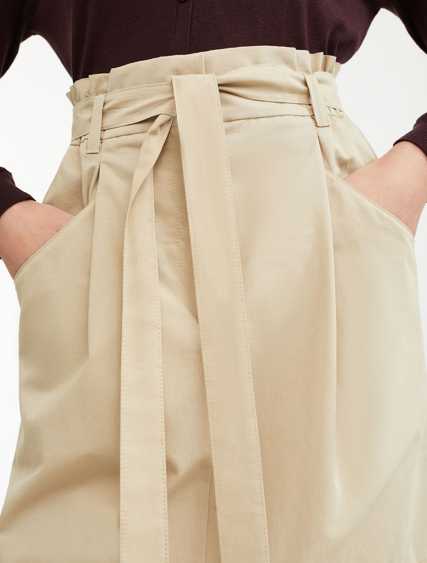 Cotton faille skirt Weekend Maxmara