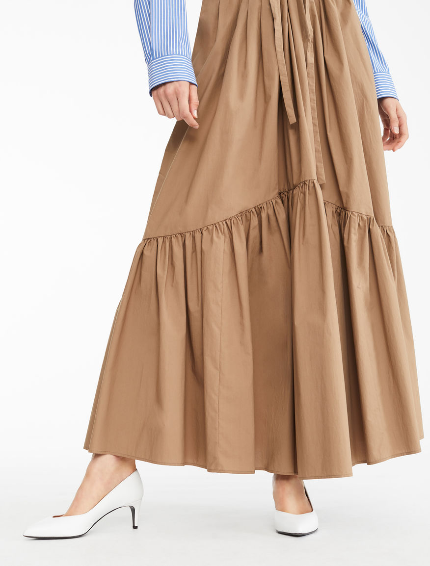 Cotton poplin skirt Weekend Maxmara