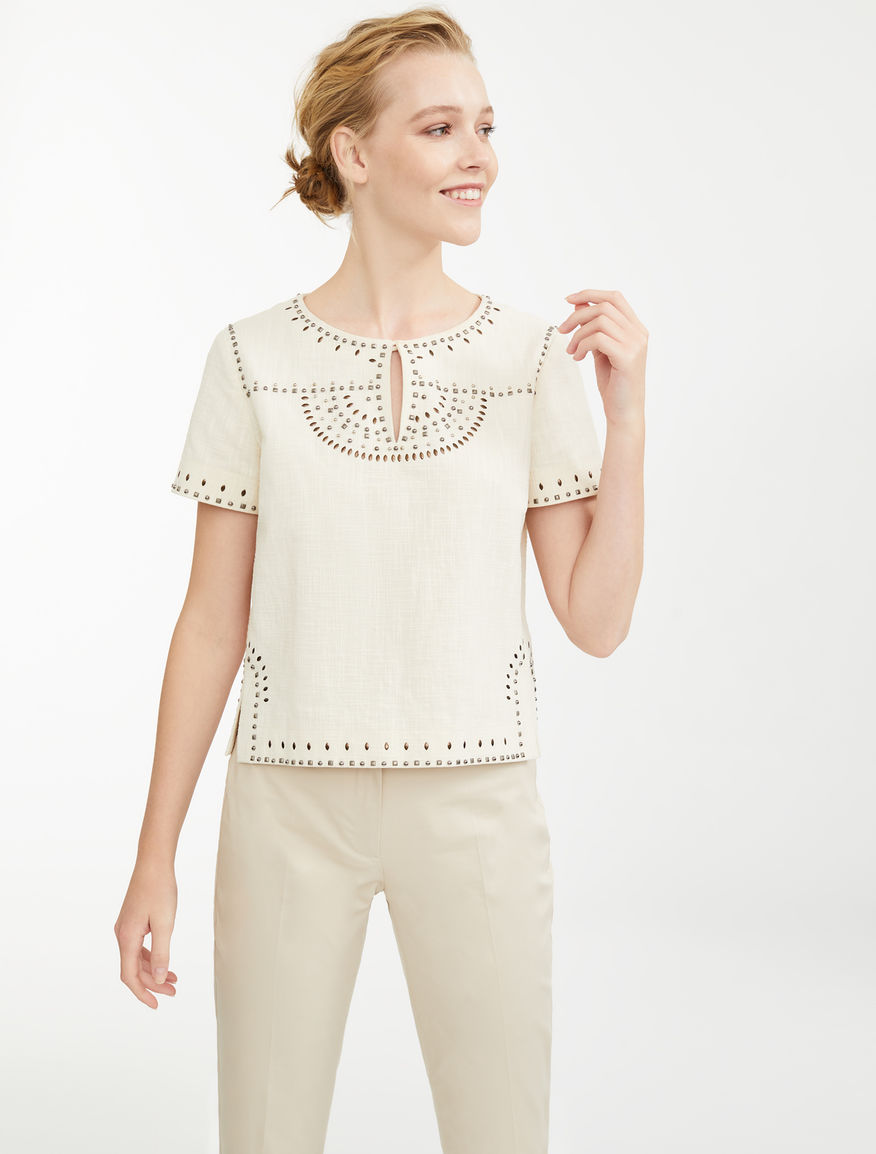 Cotton canvas top Weekend Maxmara