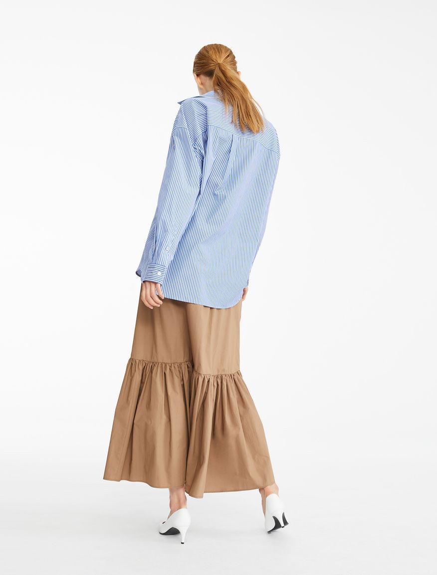 Camicia in popeline di cotone Weekend Maxmara