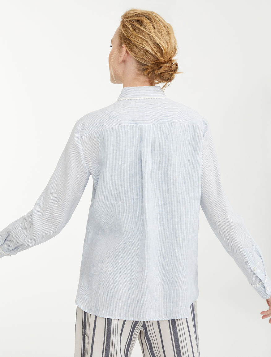Linen canvas shirt Weekend Maxmara