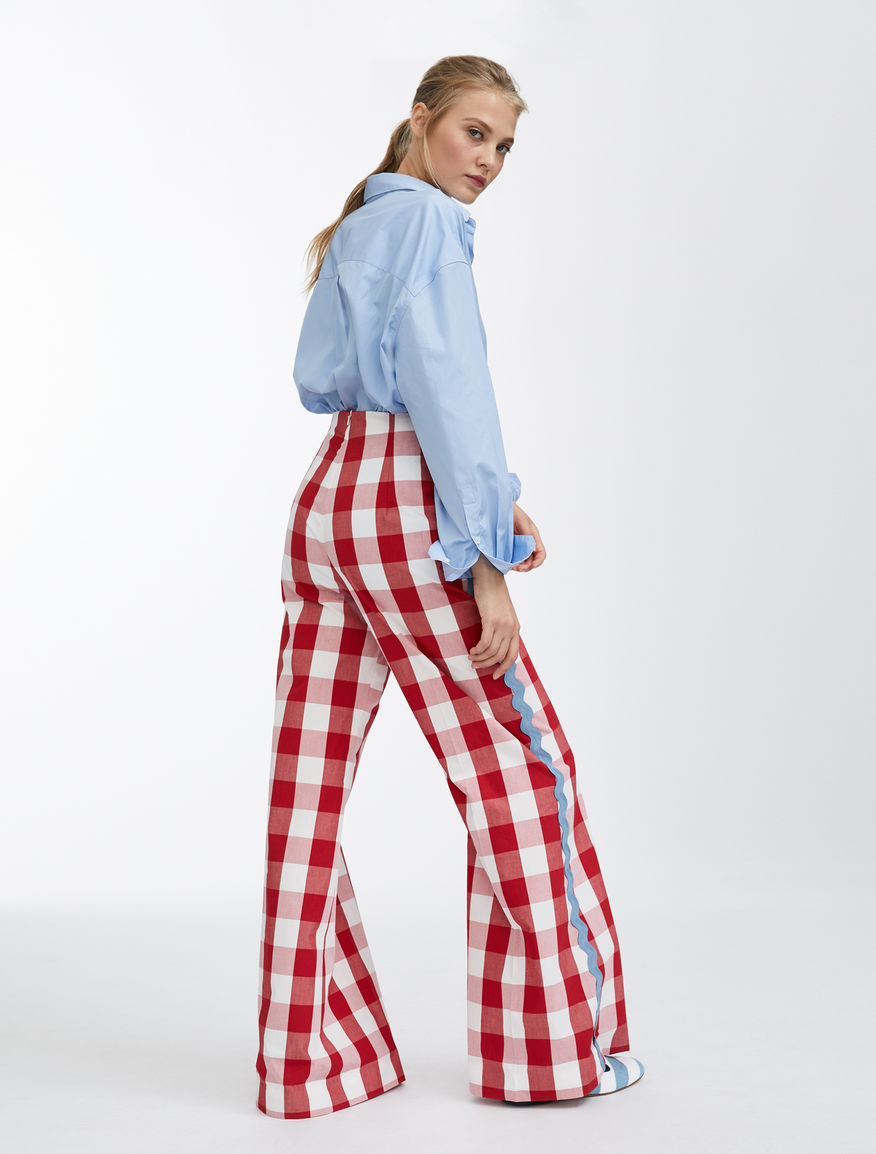 Trousers in cotton canvas Weekend Maxmara