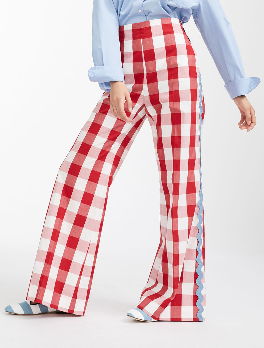 Pantaloni in tela di cotone Weekend Maxmara