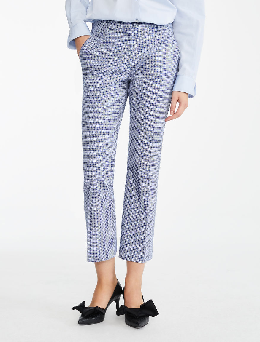 Pantaloni in cotone stretch Weekend Maxmara