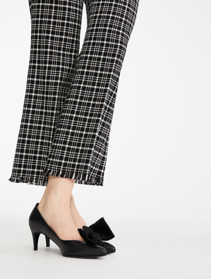 Cotton cordelet trousers Weekend Maxmara