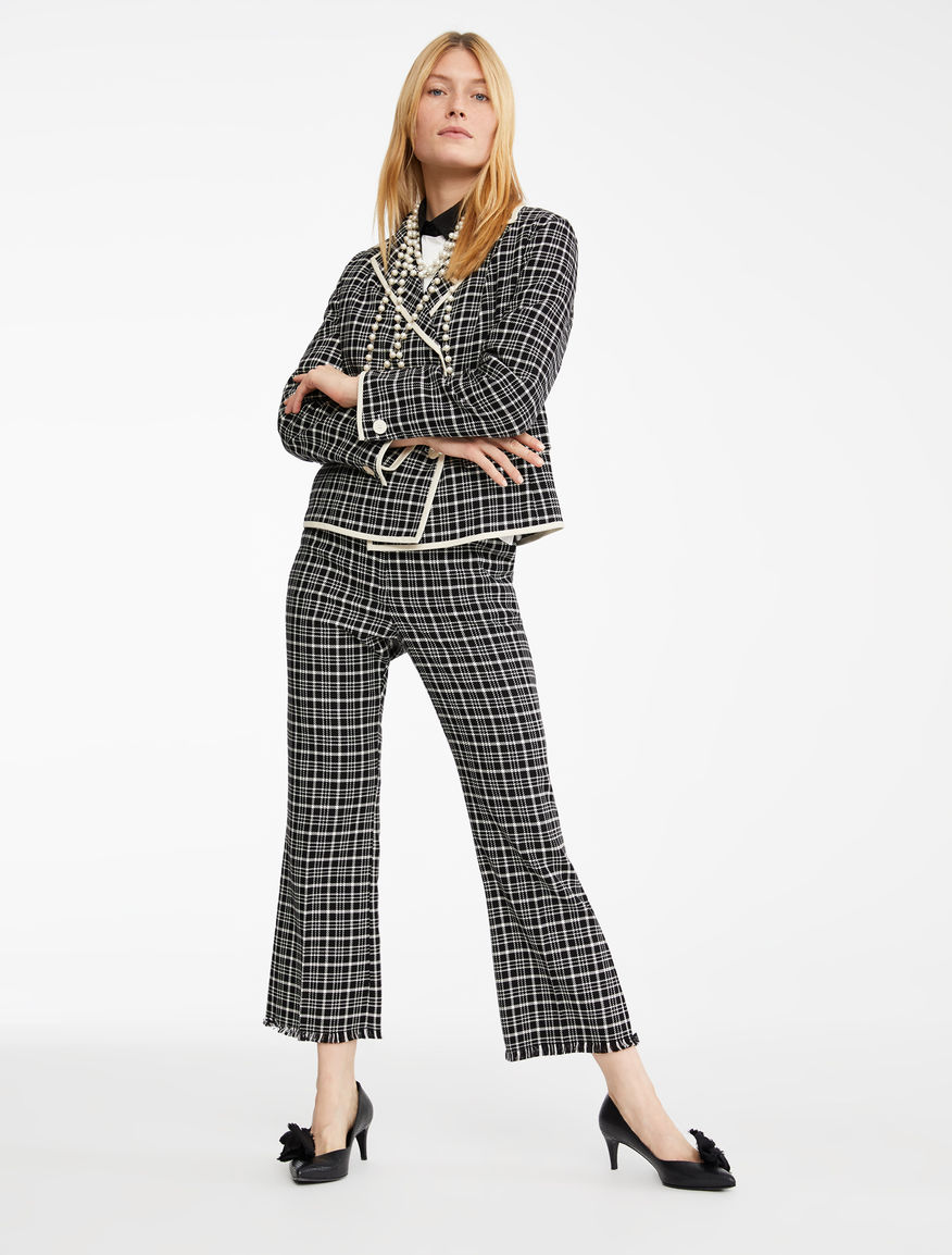 Pantaloni in cordonetto di cotone Weekend Maxmara