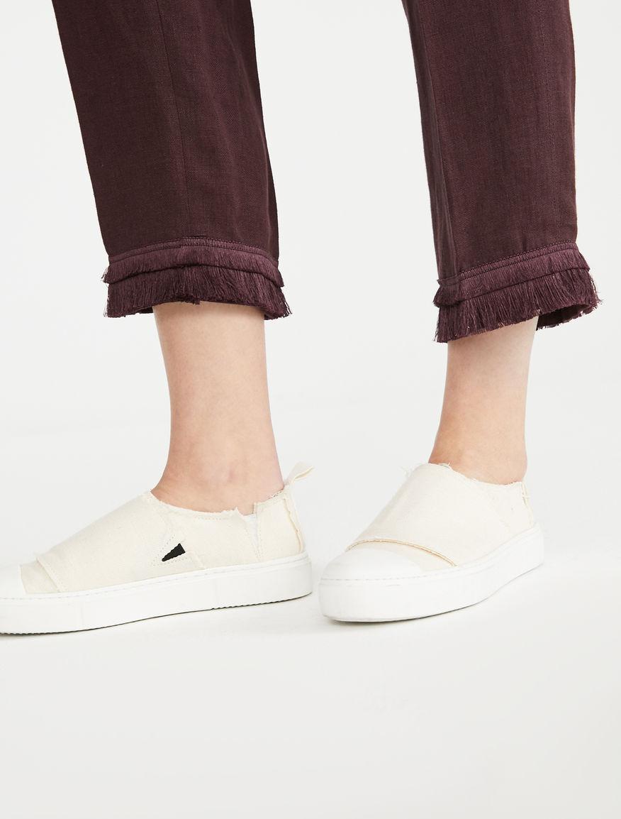 Linen canvas trousers Weekend Maxmara