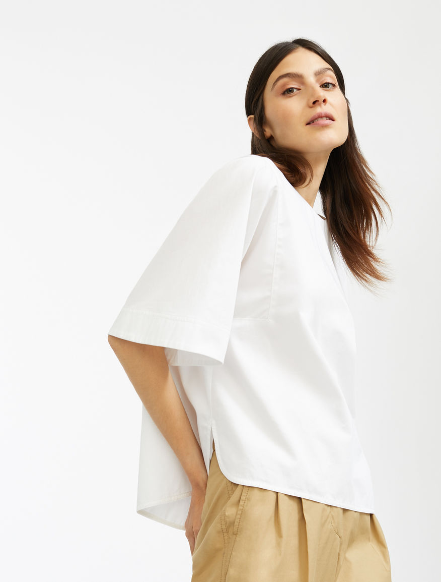 Cotton sateen tunic Weekend Maxmara
