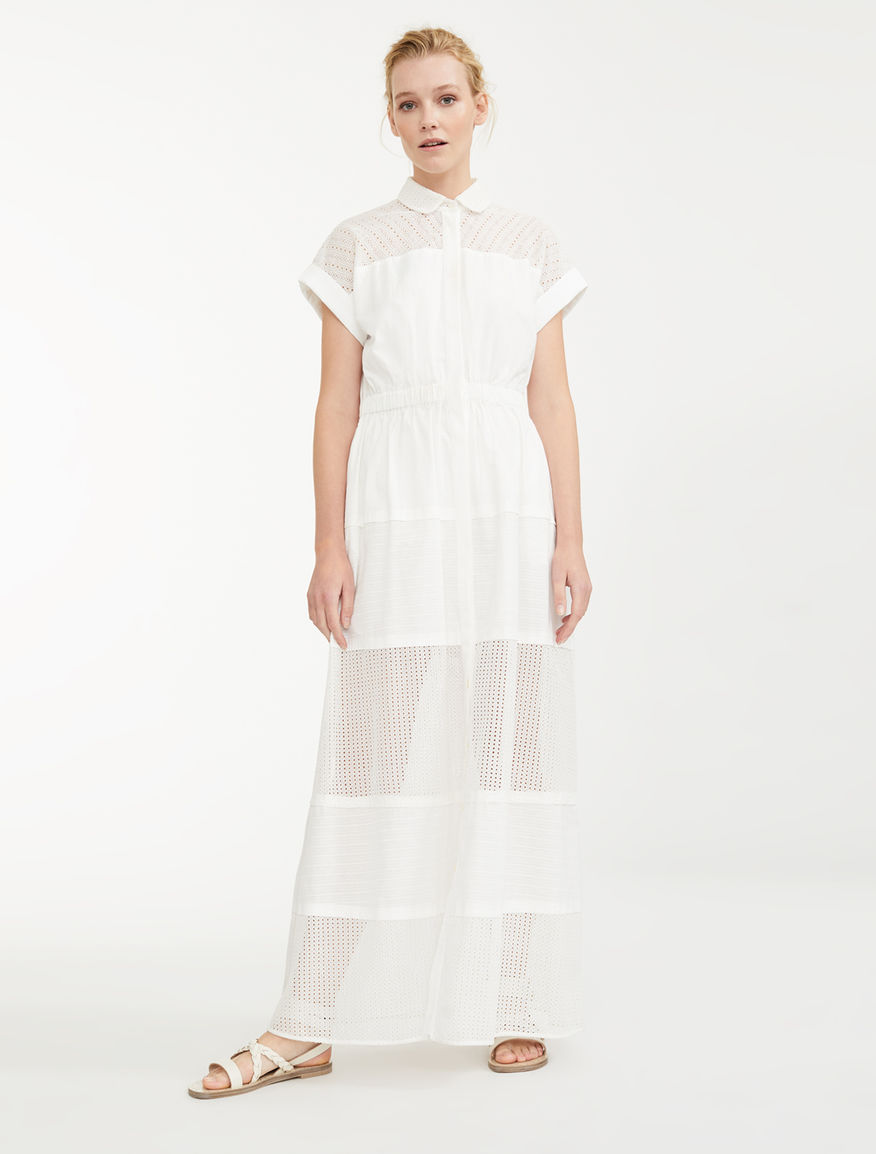Jacquard cotton dress Weekend Maxmara