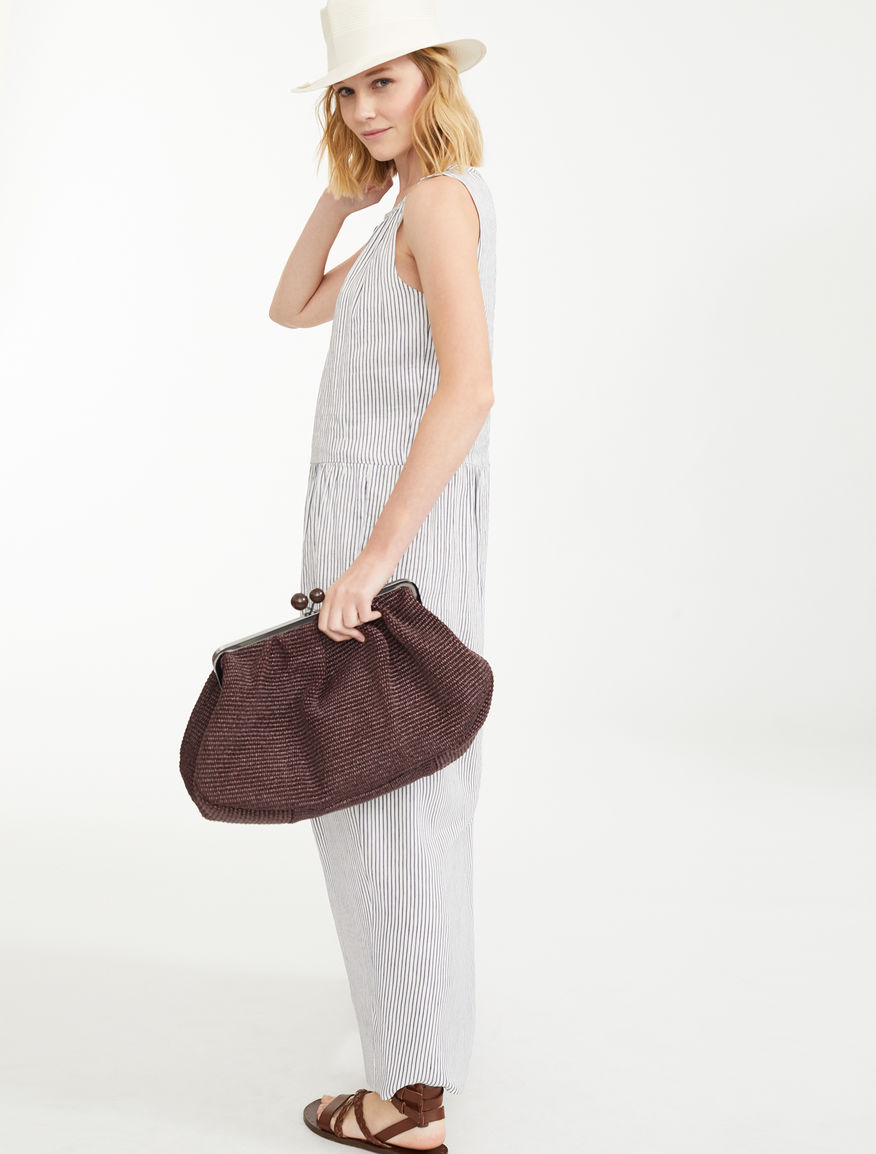 Dress in silk and linen canvas Weekend Maxmara