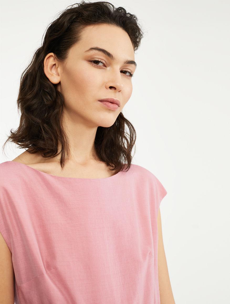Silk and linen canvas dress Weekend Maxmara