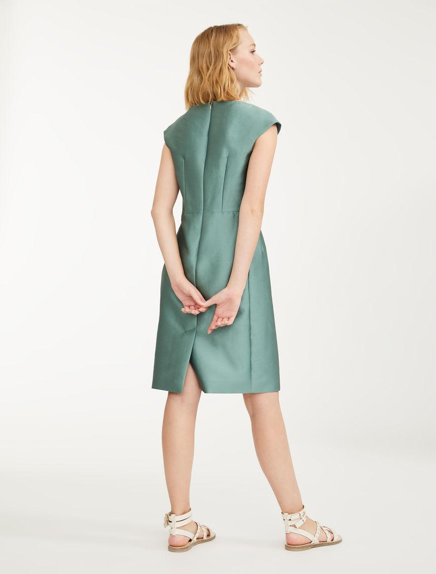 Silk and cotton satin dress Weekend Maxmara