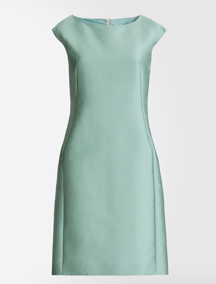 Silk and cotton satin dress Weekend Maxmara