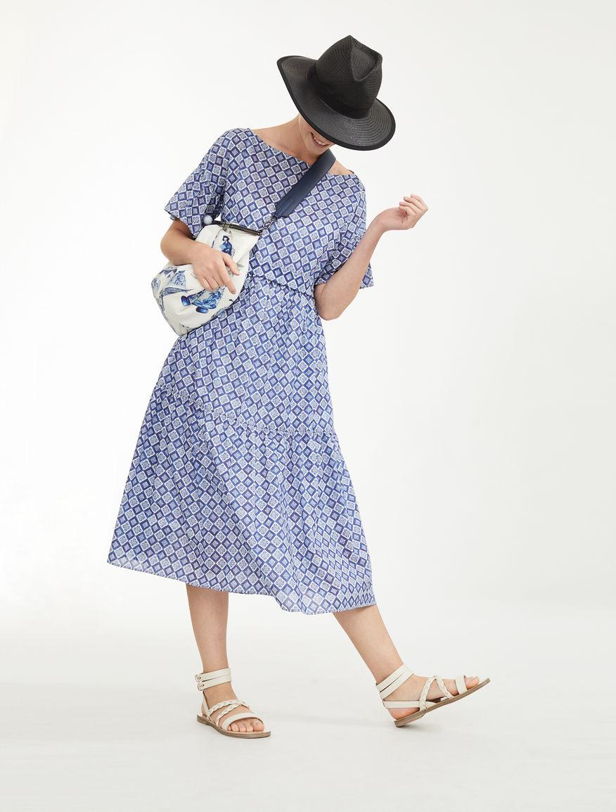 Cotton voile dress Weekend Maxmara