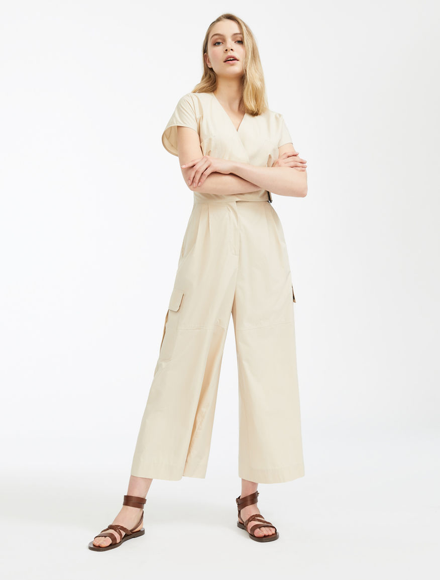 Cotton poplin jumpsuit Weekend Maxmara