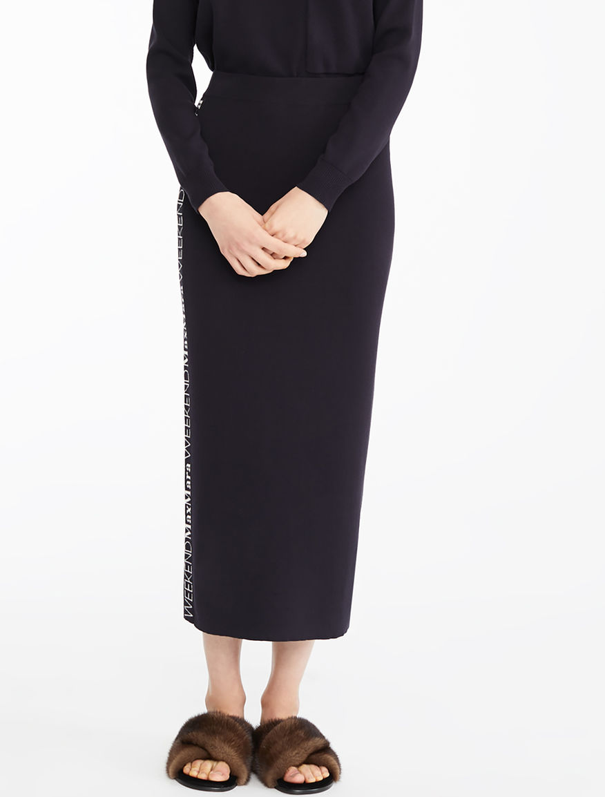 Stretch viscose skirt Weekend Maxmara