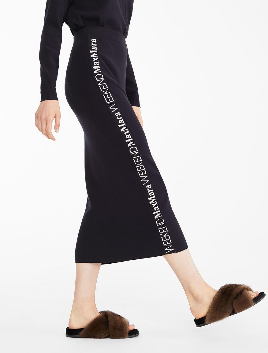Stretch viscose skirt Weekend Maxmara