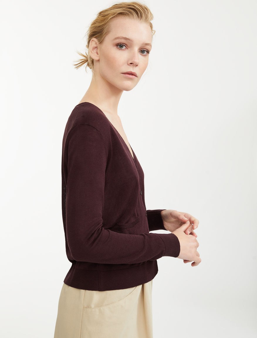 Silk and linen cardigan Weekend Maxmara