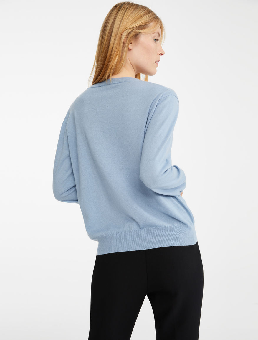 Cashmere and wool yarn jumper Weekend Maxmara