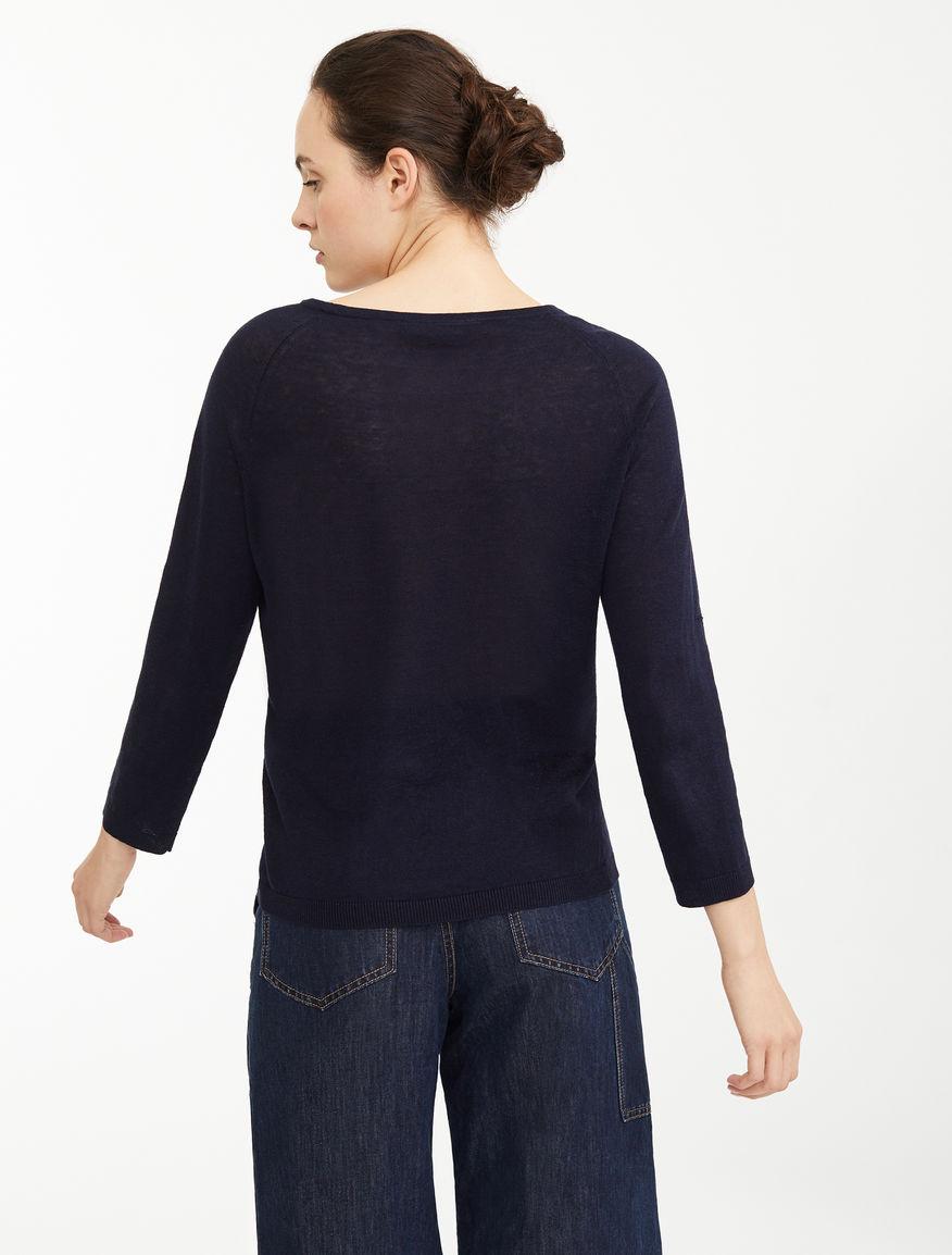 Silk and linen yarn jumper Weekend Maxmara