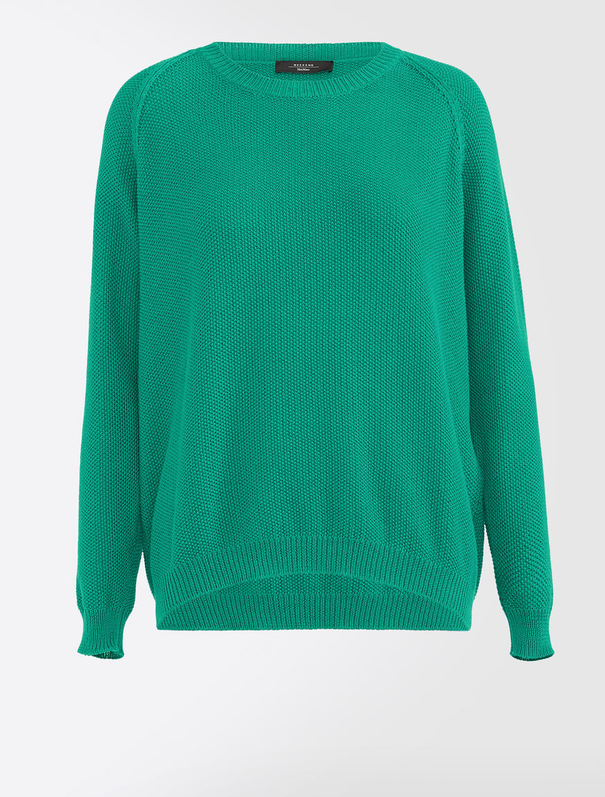 Cotton cordelet jumper Weekend Maxmara
