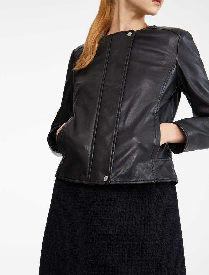 Nappa leather jacket Weekend Maxmara