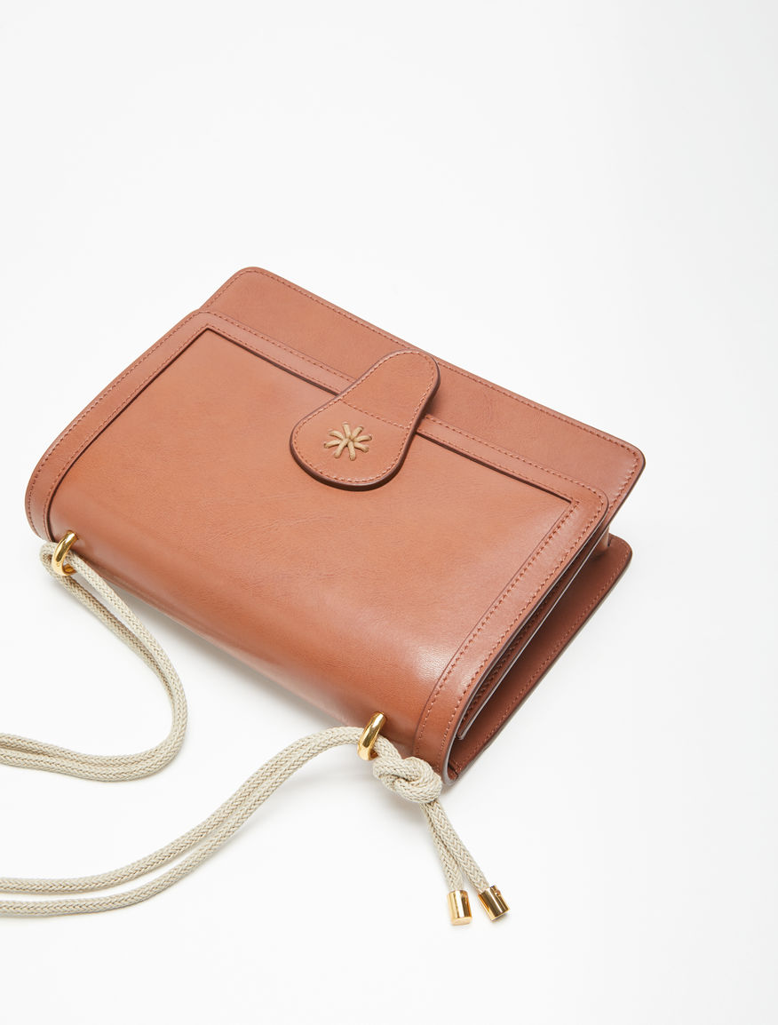 Leather messenger bag Weekend Maxmara