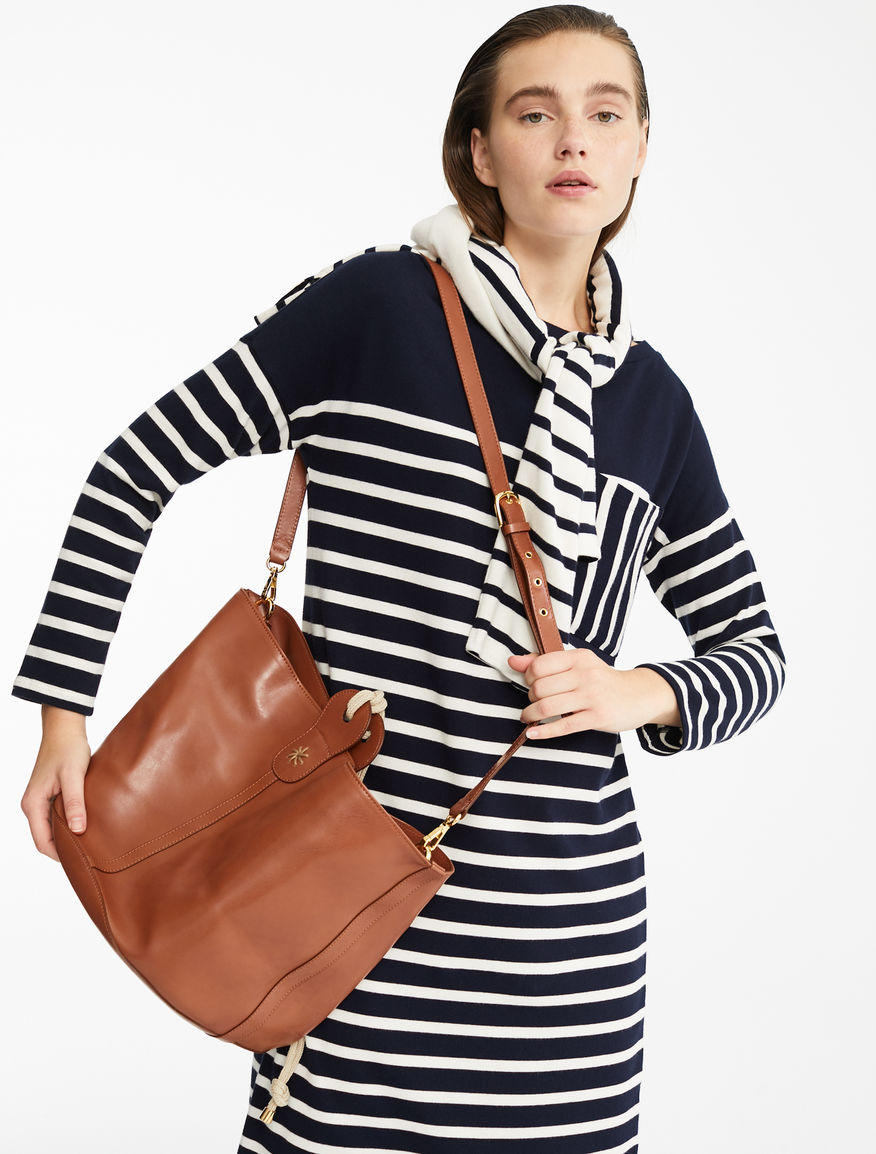 Leather bag Weekend Maxmara