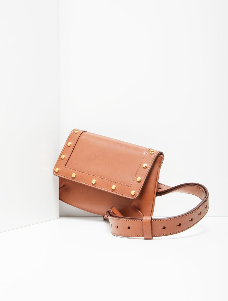 Leather belt bag Weekend Maxmara