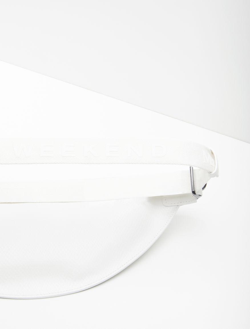 Python-print leather belt bag Weekend Maxmara