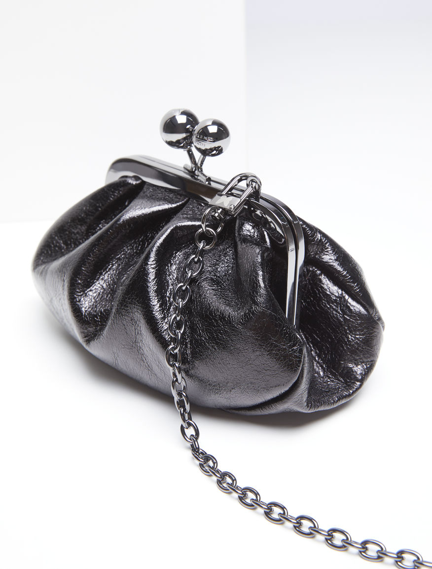 Micro Pasticcino Bag in glossy leather Weekend Maxmara