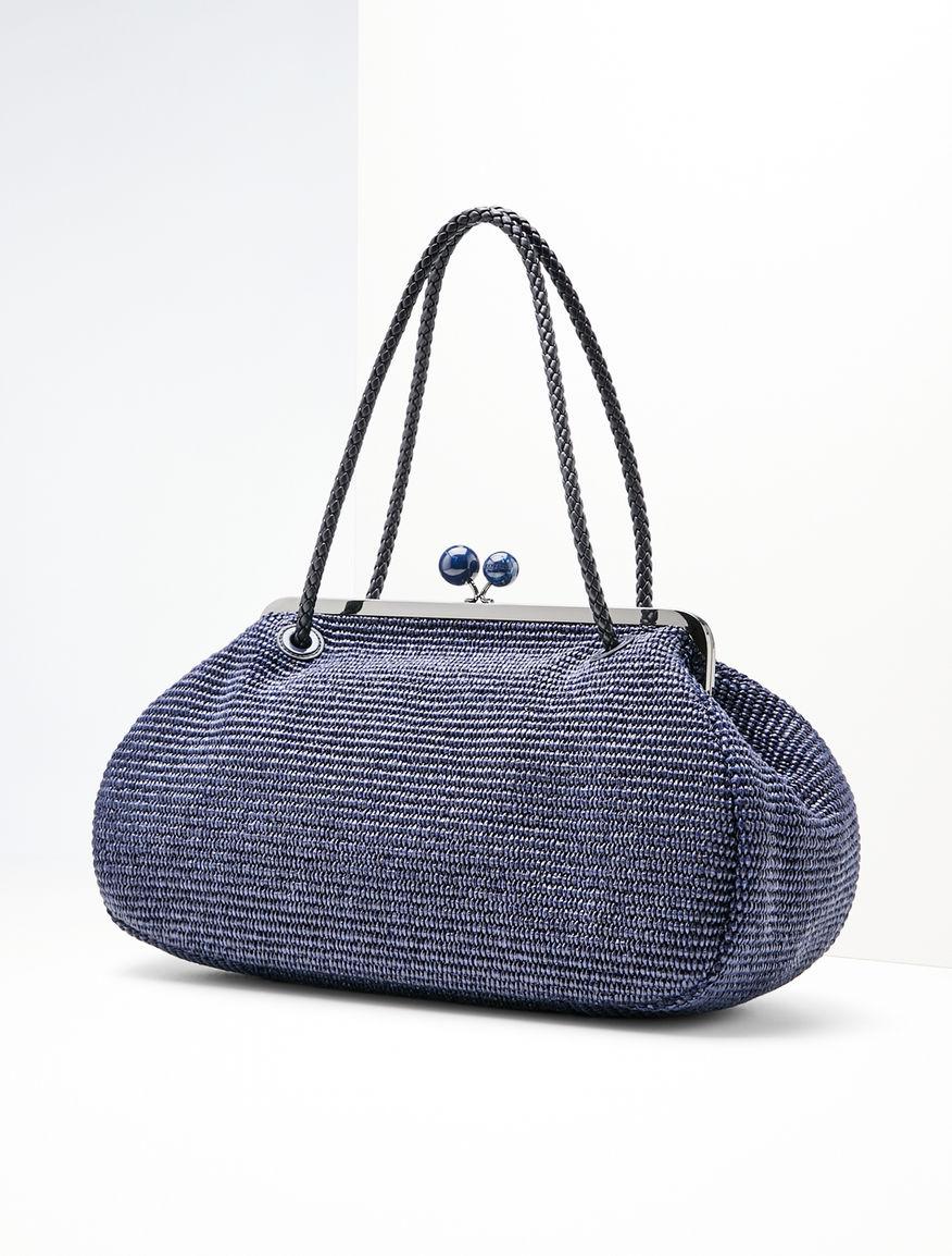 Pasticcino Bag Maxi in rafia Weekend Maxmara