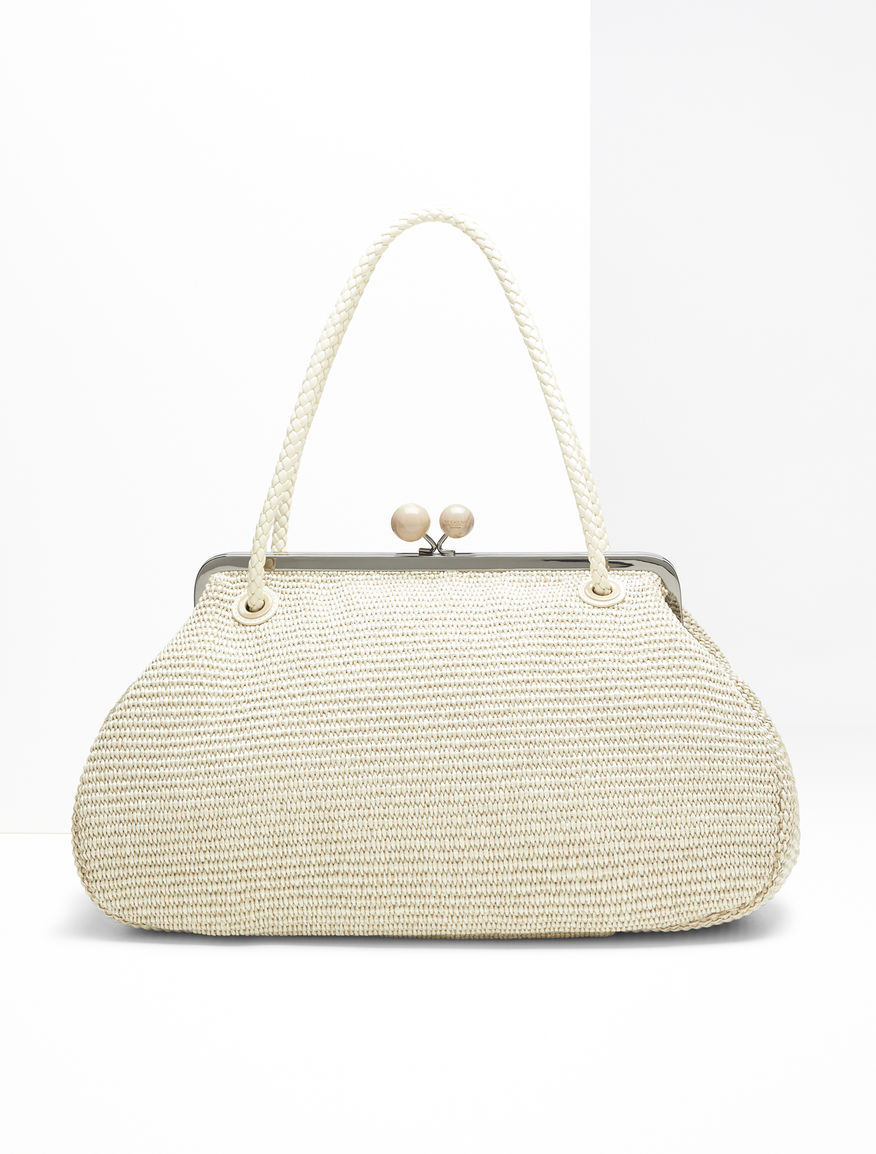 Pasticcino Bag Maxi in rafia Weekend Maxmara