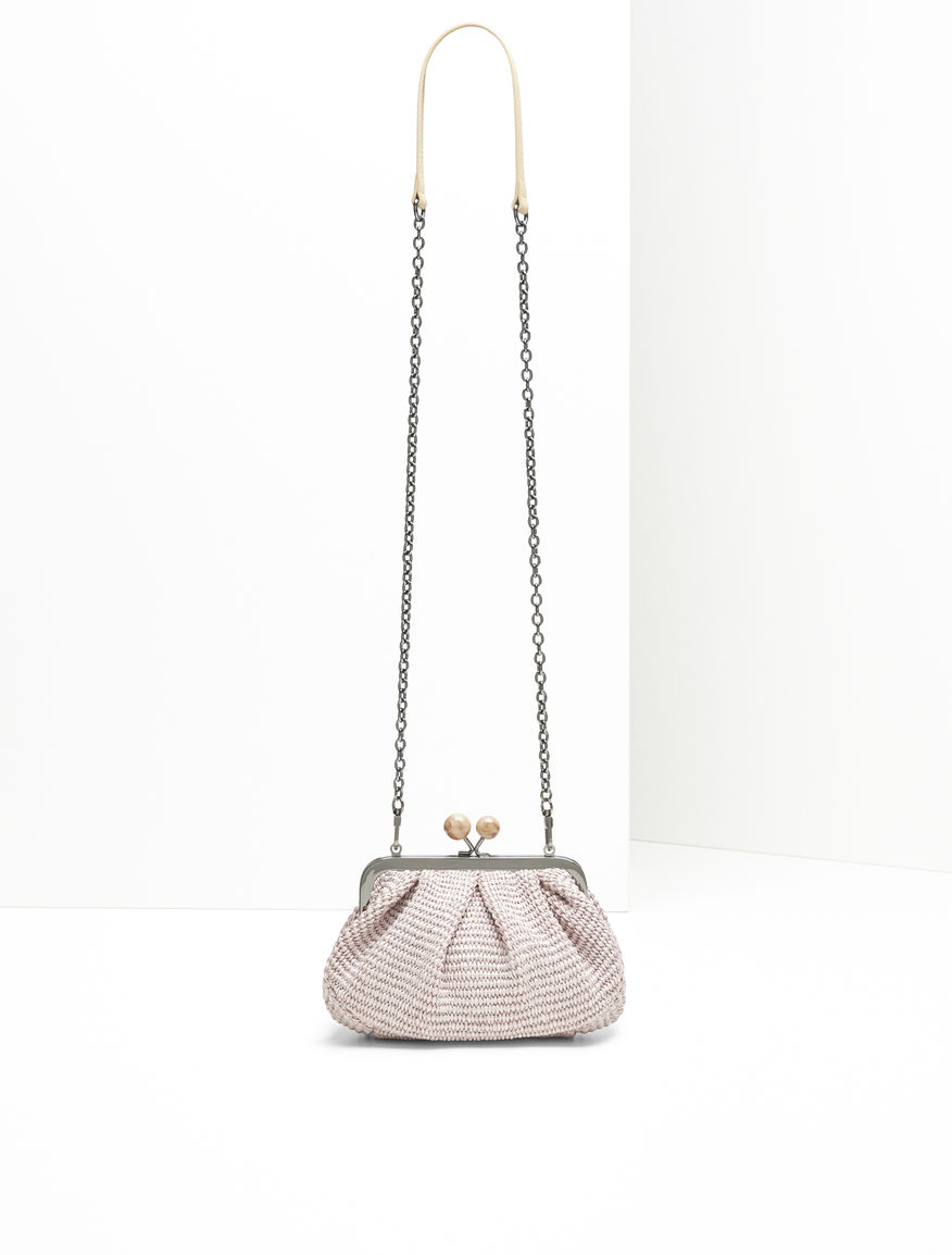 Raffia Mini Pasticcino Bag Weekend Maxmara