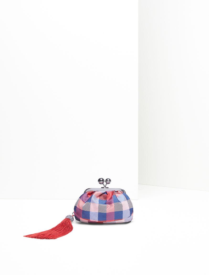 Micro Pasticcino Bag in jacquard fabric Weekend Maxmara