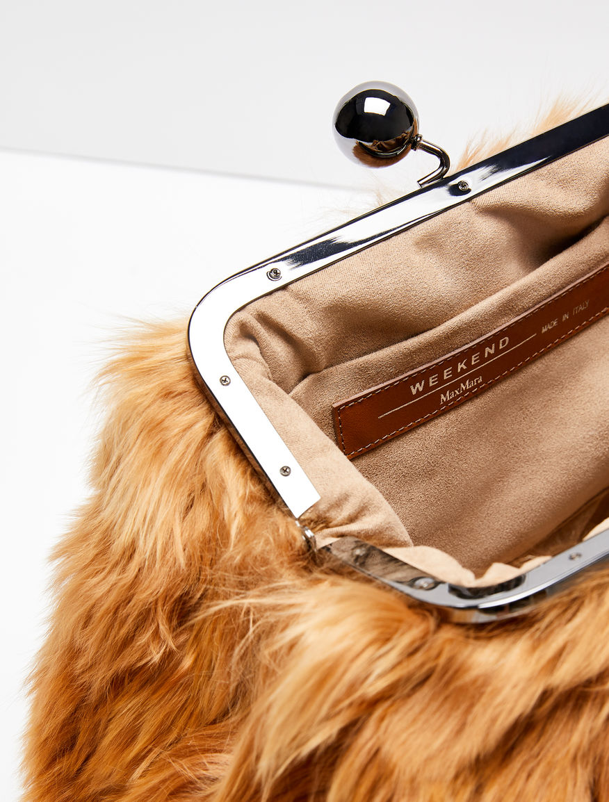 Medium Pasticcino Bag in alpaca Weekend Maxmara