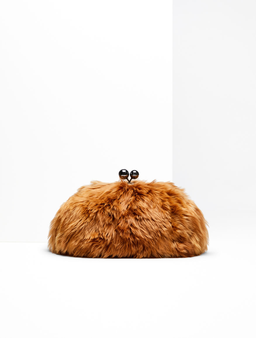 Medium Pasticcino Bag in alpaca Weekend Maxmara