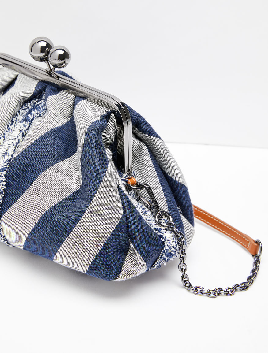 Medium Pasticcino Bag in chevron fabric Weekend Maxmara
