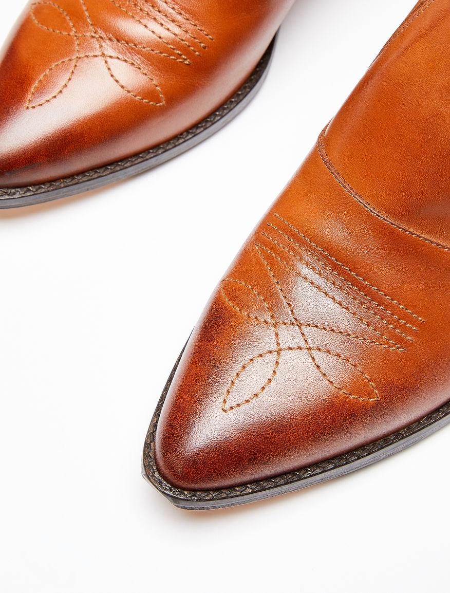 Leather cowboy shoes Weekend Maxmara