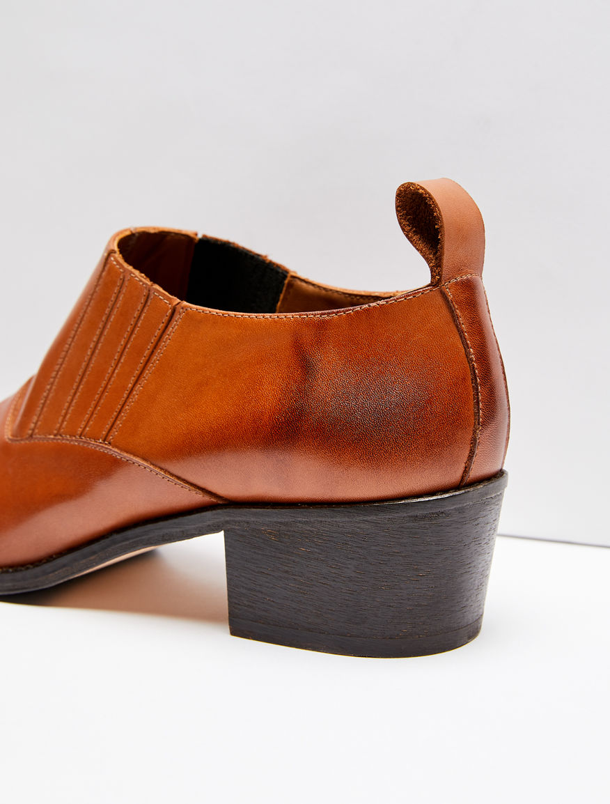 Leather cowboy shoes Weekend Maxmara