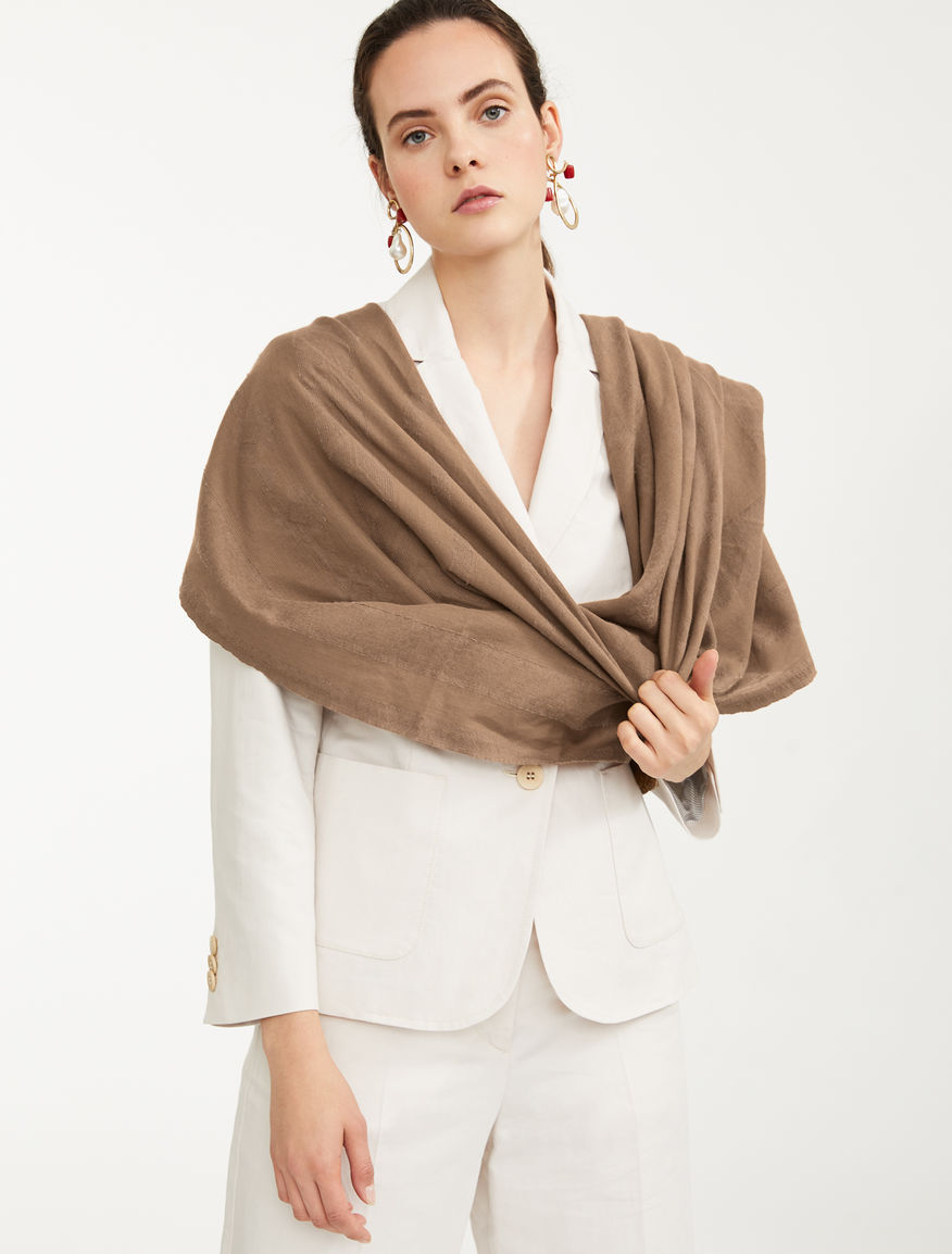Cotton shawl Weekend Maxmara