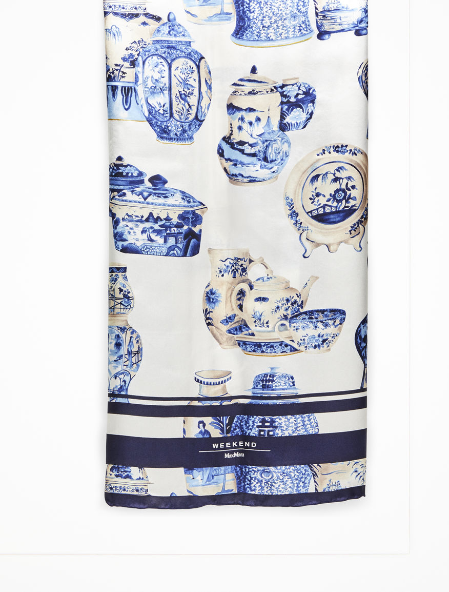 Printed silk foulard Weekend Maxmara