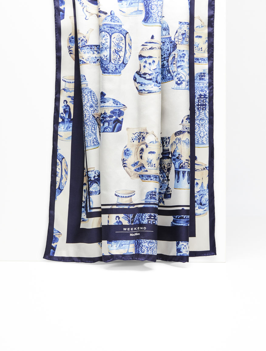 Foulard in seta stampata Weekend Maxmara