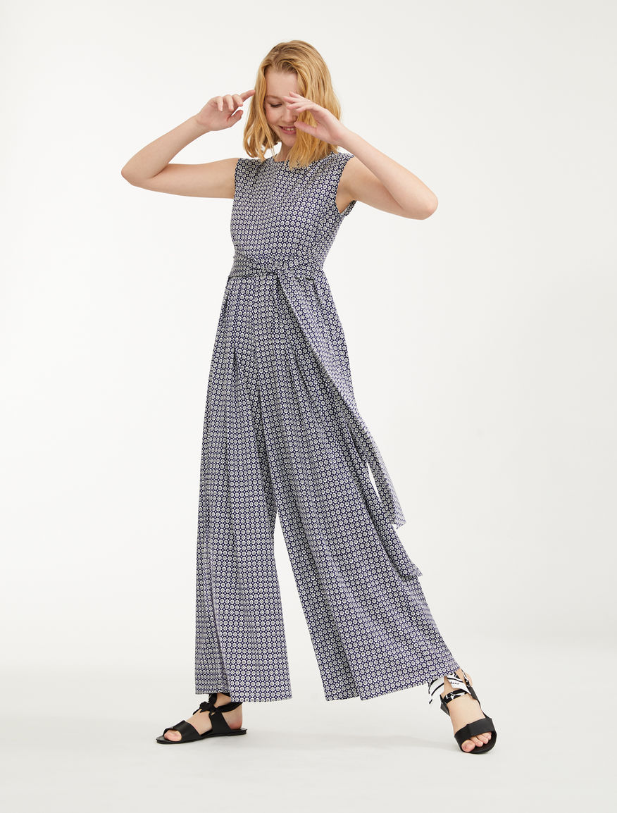 Cotton jersey jumpsuit Weekend Maxmara