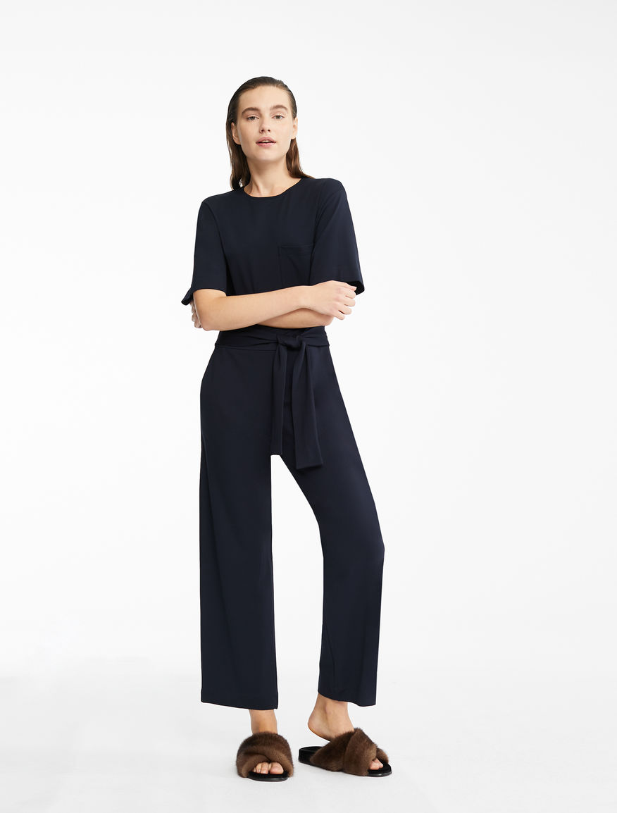 Technical jersey jumpsuit Weekend Maxmara